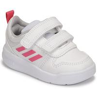 Schuhe Mädchen Sneaker Low adidas Performance TENSAUR I Weiss / Rose