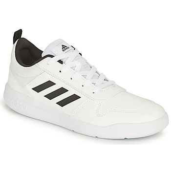 Schuhe Kinder Sneaker Low adidas Performance TENSAUR K Weiss / Schwarz