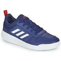 Schuhe Kinder Sneaker Low adidas Performance TENSAUR K Marine / Weiss