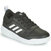 Schuhe Kinder Sneaker Low adidas Performance TENSAUR K Schwarz / Weiss