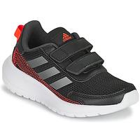 Schuhe Jungen Laufschuhe adidas Performance TENSAUR RUN C Schwarz / Rot