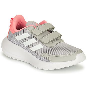 Schuhe Mädchen Laufschuhe adidas Performance TENSAUR RUN C Grau / Rose