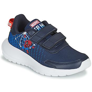 Schuhe Jungen Laufschuhe adidas Performance TENSAUR RUN C Blau