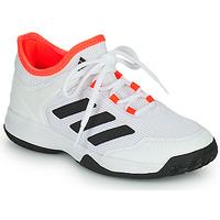 Schuhe Kinder Tennisschuhe adidas Performance Ubersonic 4 k Weiss / Rot