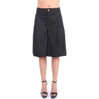 Kleidung Damen Shorts / Bermudas Liviana Conti S1/L1SK30 Bermuda Damen Schwarz Schwarz