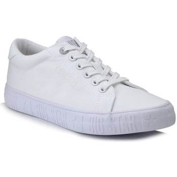 Schuhe Damen Sneaker Low Big Star HH274216 Weiß
