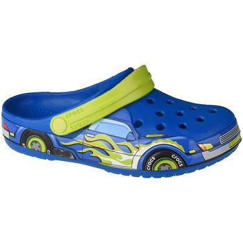 Schuhe Kinder Pantoletten / Clogs Crocs Fun Lab Truck Band Clog Blau