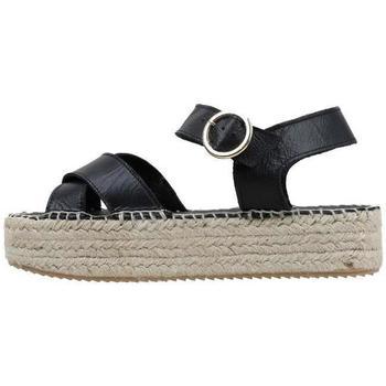 Schuhe Damen Sandalen / Sandaletten Senses & Shoes  Schwarz