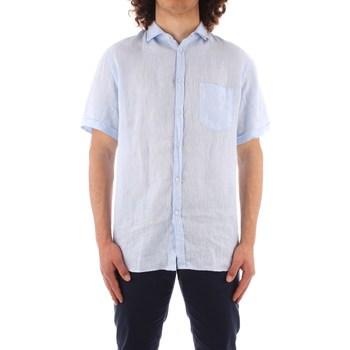 Kleidung Herren Kurzärmelige Hemden Trussardi 52C00213 1T002248 BLAU