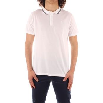 Kleidung Herren Polohemden Trussardi 52T00501 1T003602 WEISS