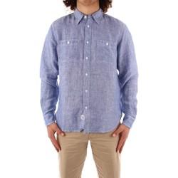 Kleidung Herren Langärmelige Hemden Blauer 21SBLUS01221 BLAU