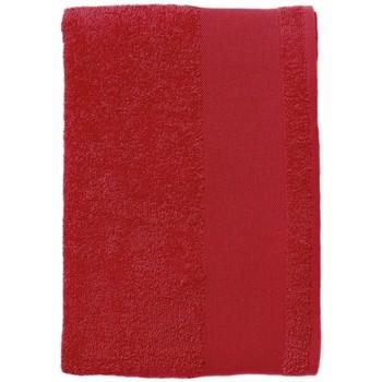 Home Handtuch und Waschlappen Sols BAYSIDE 70 Rojo Rojo