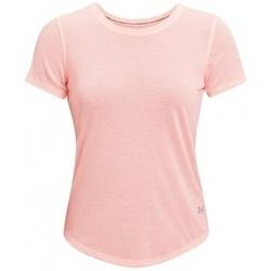 Kleidung Damen T-Shirts Under Armour Streaker Run Short Sleeve Rosa