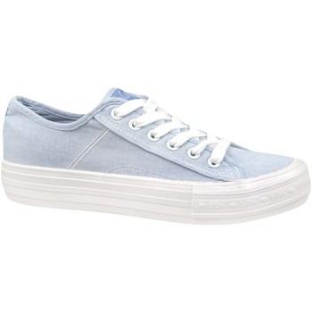 Schuhe Damen Sneaker Low Lee Cooper Lcw 21 31 0123L Hellblau