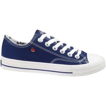 Schuhe Damen Sneaker Low Lee Cooper Lcw 21 31 0095L Dunkelblau