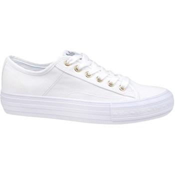 Schuhe Damen Sneaker Low Lee Cooper Lcw 21 31 0121L Weiß