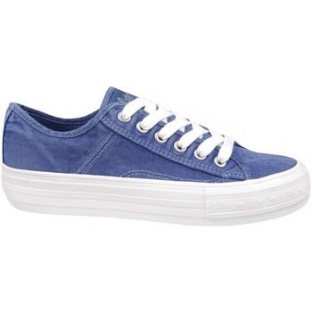 Schuhe Damen Sneaker Low Lee Cooper Lcw 21 31 0119L Blau
