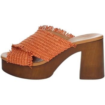 Schuhe Damen Sandalen / Sandaletten Elisa Conte CARRY Orange