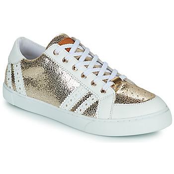 Schuhe Damen Sneaker Low Les Tropéziennes par M Belarbi SUZIE Gold / Weiss