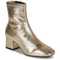 Schuhe Damen Low Boots Les Tropéziennes par M Belarbi DANIELA Gold