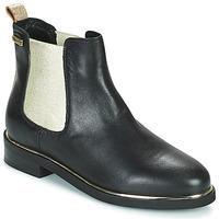 Schuhe Damen Boots Les Tropéziennes par M Belarbi MICKY Schwarz / Gold