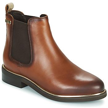 Schuhe Damen Boots Les Tropéziennes par M Belarbi MICKY Braun / Schwarz