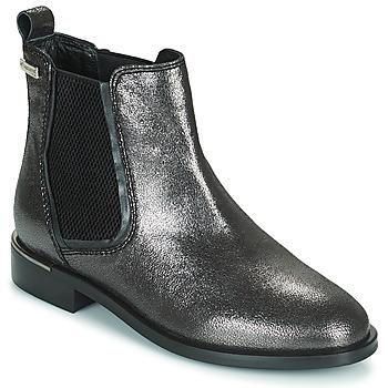 Schuhe Damen Boots Les Tropéziennes par M Belarbi MYLA Silbern