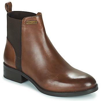 Schuhe Damen Boots Les Tropéziennes par M Belarbi WINNY Braun