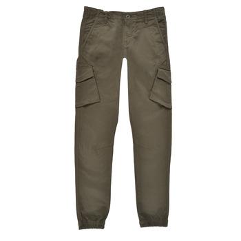 Kleidung Jungen Cargo Hosen Teddy Smith BATTLE Kaki