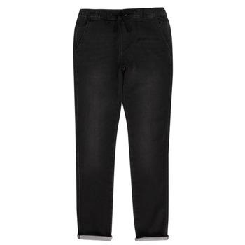 Kleidung Jungen 5-Pocket-Hosen Teddy Smith JOGGER SWEAT Schwarz