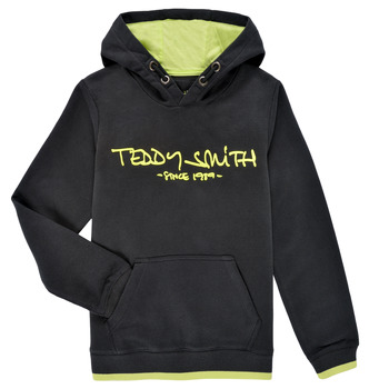Kleidung Jungen Sweatshirts Teddy Smith SICLASS HOODY Schwarz