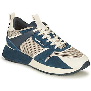 Schuhe Herren Sneaker Low MICHAEL Michael Kors THEO Marine / Weiss