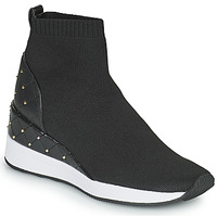 Schuhe Damen Sneaker High MICHAEL Michael Kors SKYLE Schwarz