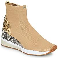 Schuhe Damen Sneaker High MICHAEL Michael Kors SKYLER Camel