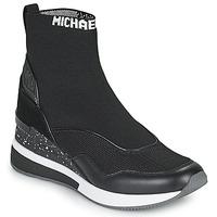 Schuhe Damen Sneaker High MICHAEL Michael Kors SWIFT Schwarz