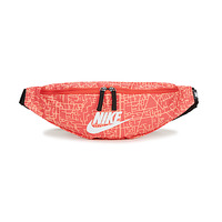 Taschen Damen Hüfttasche Nike NK HERITAGE WSTPCK FA21 AOP2 Rose / Schwarz / Weiss