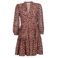 Kleidung Damen Kurze Kleider Liu Jo WF1019 Leopard