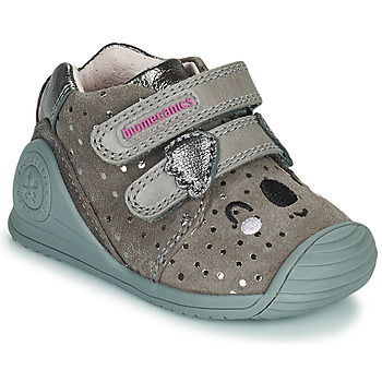 Schuhe Mädchen Sneaker Low Biomecanics BIOGATEO CASUAL Maulwurf