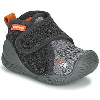 Schuhe Jungen Hausschuhe Biomecanics BIOHOME Grau