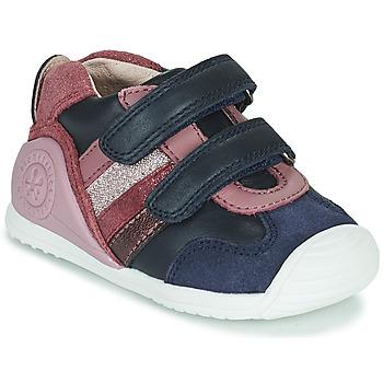 Schuhe Mädchen Sneaker Low Biomecanics BIOGATEO SPORT Marine / Rose