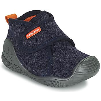 Schuhe Kinder Hausschuhe Biomecanics BIOHOME Marine