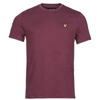 Kleidung Herren T-Shirts Lyle & Scott ROBINA Bordeaux