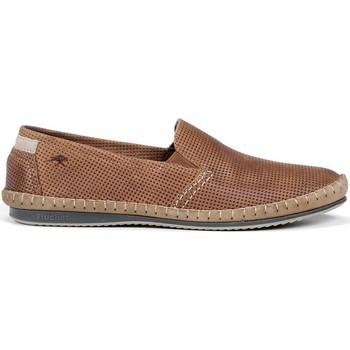Schuhe Herren Slipper Fluchos 8674 LUXE SURF BAHAMAS MOCCASIN MAN LEDER_TAUPE