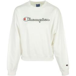 Kleidung Damen Sweatshirts Champion Crewneck Sweatshirt Weiss