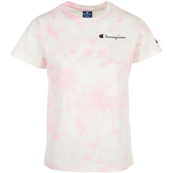 Kleidung Damen T-Shirts Champion Crewneck T-Shirt Rose