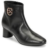 Schuhe Damen Boots Calvin Klein Jeans CYLINDER ANKLE BOOT Schwarz