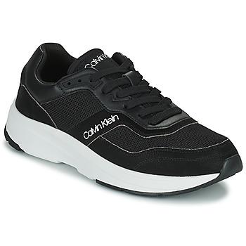 Schuhe Herren Sneaker Low Calvin Klein Jeans LOW TOP LACE UP MIX Schwarz