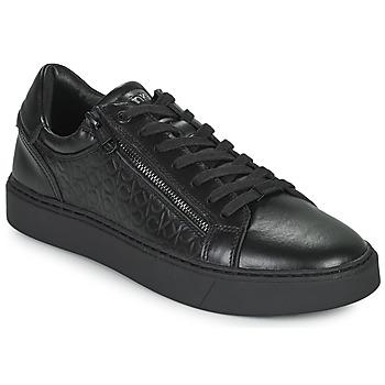 Schuhe Herren Sneaker Low Calvin Klein Jeans LOW TOP LACE UP Schwarz