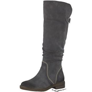 Schuhe Damen Klassische Stiefel Be Natural Stiefel Woms Boots 8-8-25604-21/206 206 grau