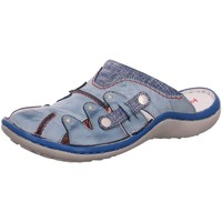 Schuhe Damen Pantoletten / Clogs Krisbut Pantoletten 2220-7 blau
